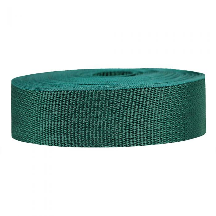 1-1/2 Inch Lightweight Polypropylene Forest Green