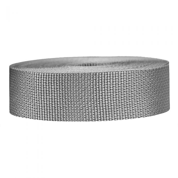 1-1/2 Inch Lightweight Polypropylene Silver Gray