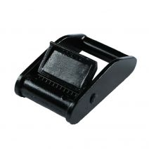 1 Inch Black Plated Metal Cam Buckle