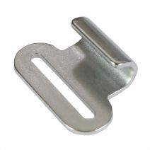 1 Inch Stainless Steel Flat Hook