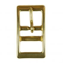 1 Inch Solid Brass Tongue Buckle