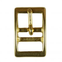 3/4 Inch Solid Brass Tongue Buckle
