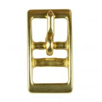 5/8 Inch Solid Brass Tongue Buckle