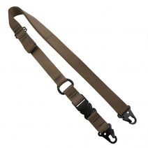 1 1/4 Inch Single to Double Point Rifle Sling