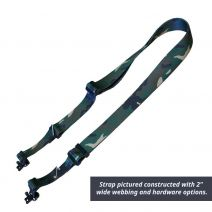 1 1/2 Inch Double Point Rifle Sling