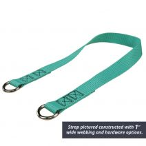 2 Inch Simple Sling with End Hardware
