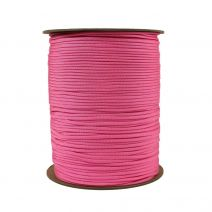 1/8 Inch Parachute Cord - Cotton Candy Pink