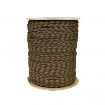 1/8 Inch Parachute Cord - Coyote Brown with Olive Drab