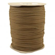 1/8 Inch Parachute Cord - Coyote Brown