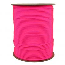 1/8 Inch Parachute Cord - Hot Pink