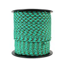 5mm Prusik Cord - Green Pattern