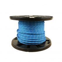 6mm Prusik Cord - Blue with White Tracer
