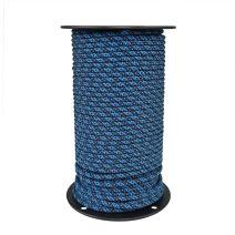 6mm Prusik Cord - Blue Pattern