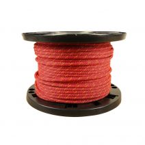 6mm Prusik Cord - Red with Yellow Tracer
