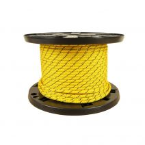 6mm Prusik Cord - Yellow with Black Tracer