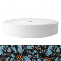 2 Inch Sublimated Elastic Bees