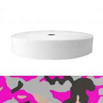 2 Inch Sublimated Elastic Camouflage Pink