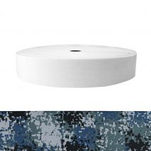 2 Inch Sublimated Elastic Camouflage Digital Blue