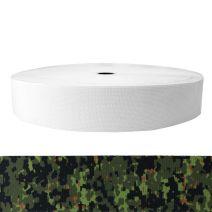 2 Inch Sublimated Elastic Camouflage Digital Jungle