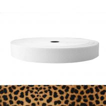 1-1/2 Inch Sublimated Elastic Leopard