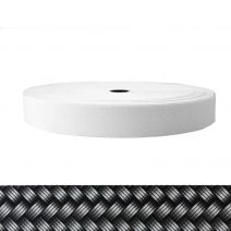 1-1/2 Inch Sublimated Elastic Metal Weave - Silver