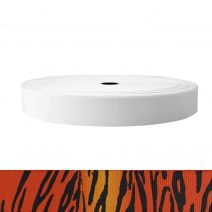 1-1/2 Inch Sublimated Elastic Tiger