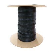 Full Roll of 1 Inch Blue Water Tubular Black