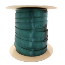 Full Roll of 1 Inch Blue Water Tubular Forest Green