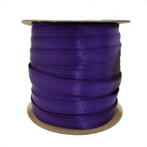 Full Roll of 1 Inch Blue Water Tubular Purple