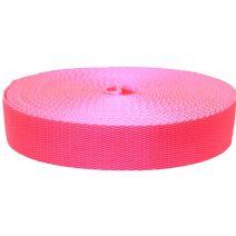 1-1/2 Inch Flat Nylon Hot Pink