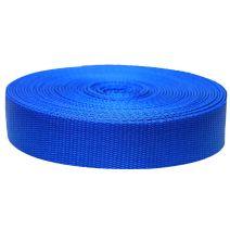 1-1/2 Inch Flat Nylon Pacific Blue