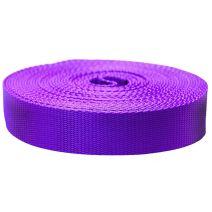 1-1/2 Inch Flat Nylon Purple