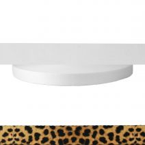 1 Inch Picture Quality Polyester Webbing Leopard