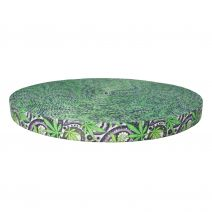 1 Inch Picture Quality Polyester Webbing Nu Canna Black Paisley