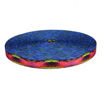 1 Inch Picture Quality Polyester Webbing Psychadelia
