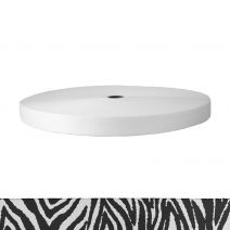 1 Inch Picture Quality Polyester Webbing Zebra