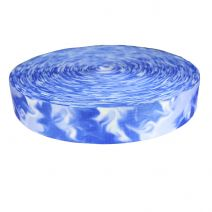 2 Inch Picture Quality Polyester Webbing Blue Smoke