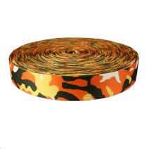 2 Inch Picture Quality Polyester Webbing Camouflage Autumn