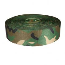 2 Inch Picture Quality Polyester Webbing Camouflage Original