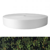 2 Inch Picture Quality Polyester Webbing Camouflage Digital Jungle
