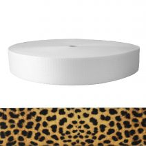2 Inch Picture Quality Polyester Webbing Leopard