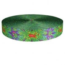 2 Inch Picture Quality Polyester Webbing Nu Canna Alien Skin