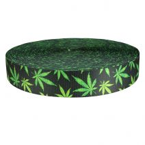 2 Inch Picture Quality Polyester Webbing Nu Canna Charcoal