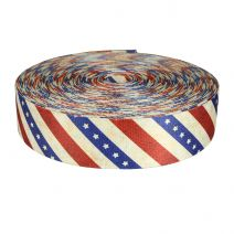 2 Inch Picture Quality Polyester Webbing Patriot