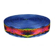 2 Inch Picture Quality Polyester Webbing Psychic Rainbow