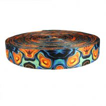 2 Inch Picture Quality Polyester Webbing Psychic Whorl