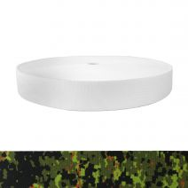 1-1/2 Inch Picture Quality Polyester Webbing Camouflage Digital Jungle