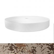 1-1/2 Inch Picture Quality Polyester Webbing Camouflage Digital Desert