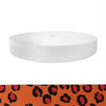 1-1/2 Inch Picture Quality Polyester Webbing Jaguar