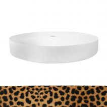 1-1/2 Inch Picture Quality Polyester Webbing Leopard